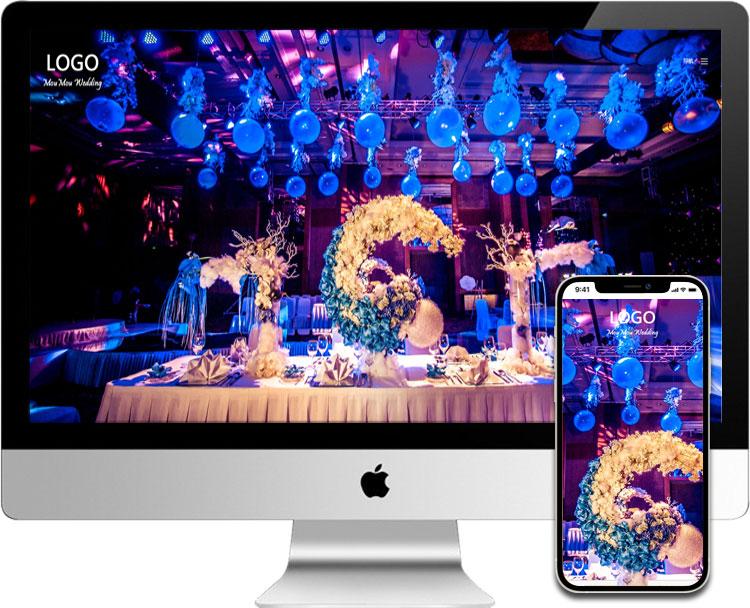 婚庆摄影网站模板026